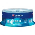 Verbatim - Blu-ray Recordable Media - BD-R - 6x - 25 GB - 25 Pack Spindle