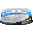 Dynex - 25-Pack 52x CD-R Disc Spindle