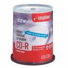 Imation - CD Recordable Media - CD-R - 52x - 700 MB - 100 Pack Spindle