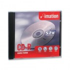 Imation - CD Recordable Media - CD-R - 52x - 700 MB - 1 Pack Jewel Case