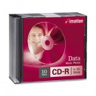Imation - CD Recordable Media - CD-R - 52x - 700 MB - 10 Pack Jewel Case