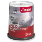 Imation - 17335 CD Recordable Media - CD-R - 52x - 700 MB - 100 Pack Spindle
