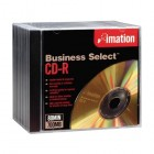 Imation - Business Select CD Recordable Media - CD-R - 52x - 700 MB - 10 Pack Jewel Case