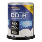 Aleratec - CD Recordable Media - CD-R - 52x - 700 MB - 90 Pack Spindle