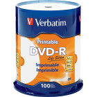 Verbatim - 16x DVD-R Discs (100-Pack) - White
