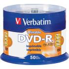 Verbatim - 16x DVD-R Discs (50-Pack) - White