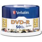Verbatim - Life Series 50-Pack 16x DVD-R Disc Spindle