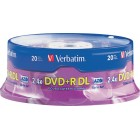 Verbatim - AZO 20-Pack 6x DVD+R DL Double-Layer Disc Spindle