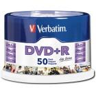 Verbatim - Life Series 50-Pack 16x DVD+R Disc Spindle