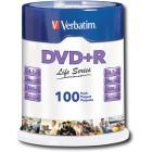 Verbatim - Life Series 16x DVD+R Discs (100-Pack)